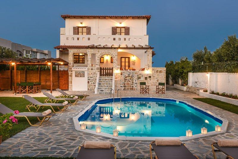 Mosaic Villa, vacation rental in Rethymnon