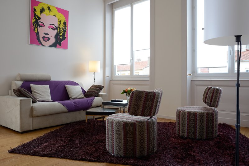 Cosy apartment in Lyon Croix Rousse, holiday rental in Caluire et Cuire