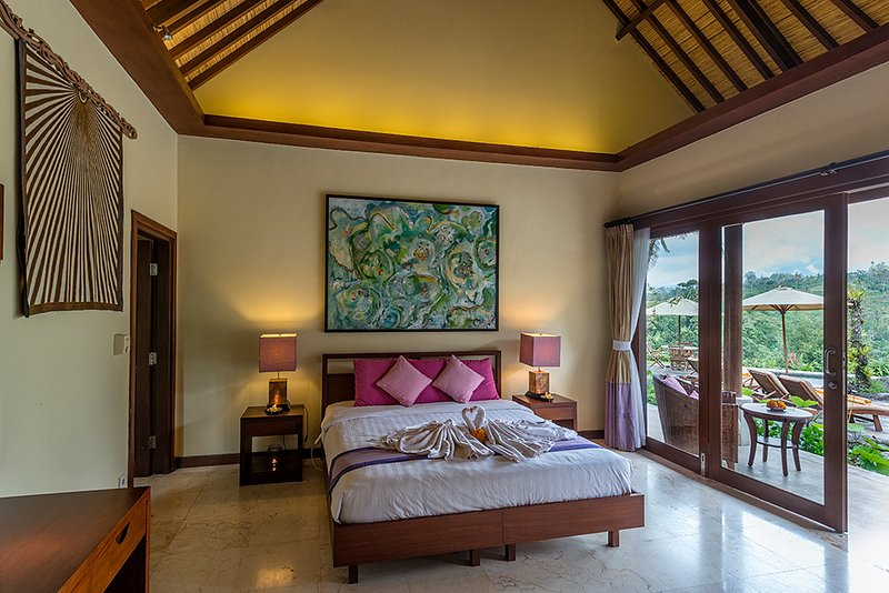 Heaven in Bali - Pink Orchid Room, holiday rental in Bangli