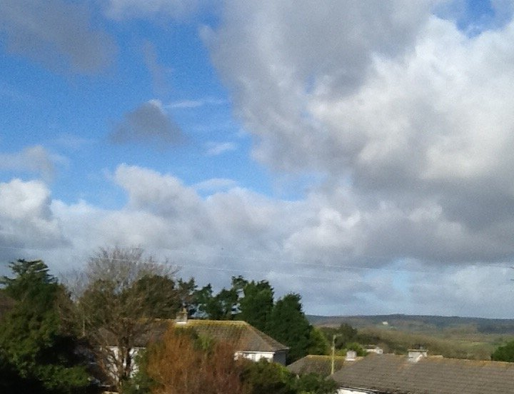 A view across Penwith from guest's bedroom. MORE PHOTOS OF HOUSE TO FOLLOW