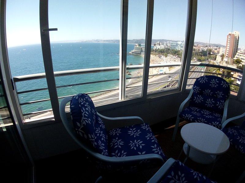 Hermoso - La mejor Vista, holiday rental in Vina del Mar