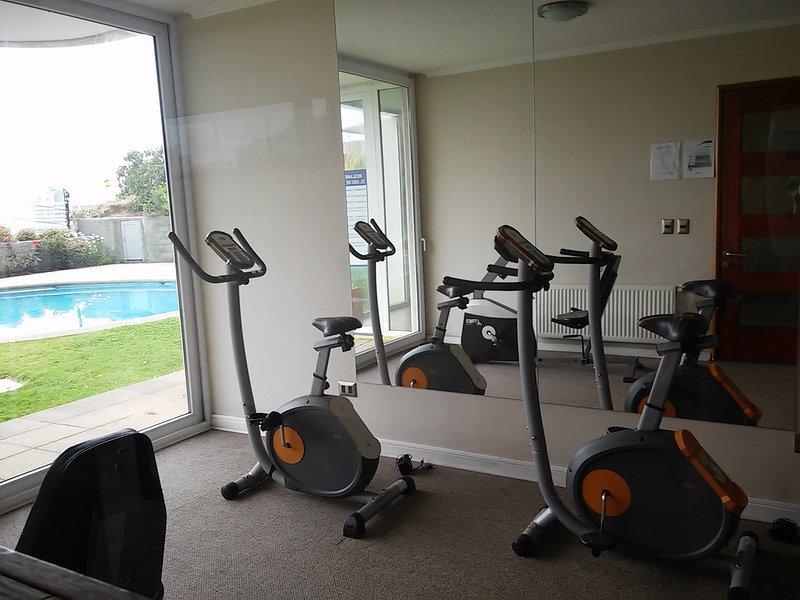 Small gym inside the condo