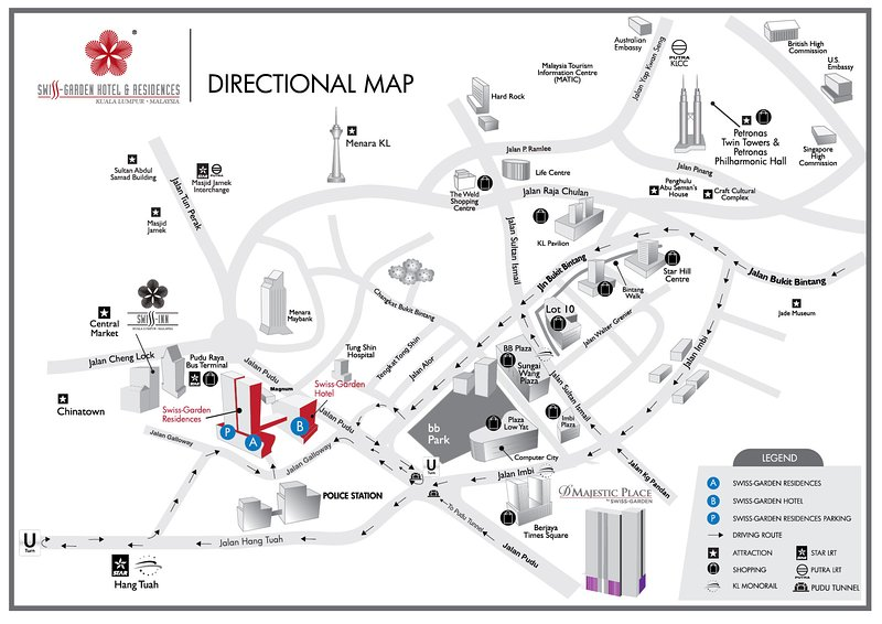 Map to Our Home
