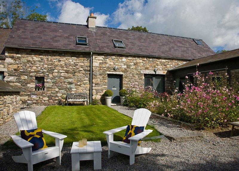 BALLILOGUE LODGE, BALLILOGUE, THE ROWER, INISTIOGE, CO KILKENNY, IRELAND, holiday rental in Graiguenamanagh