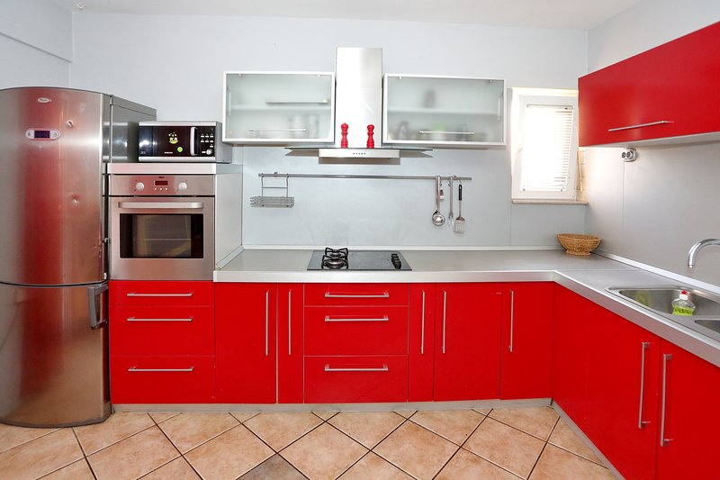 Big family apartment, holiday rental in Bibinje
