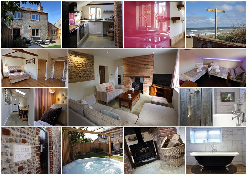 A montage of our beautiful cottage !