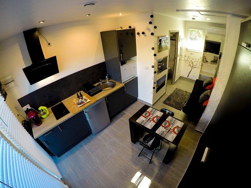 studio terremer, vacation rental in Patrimonio