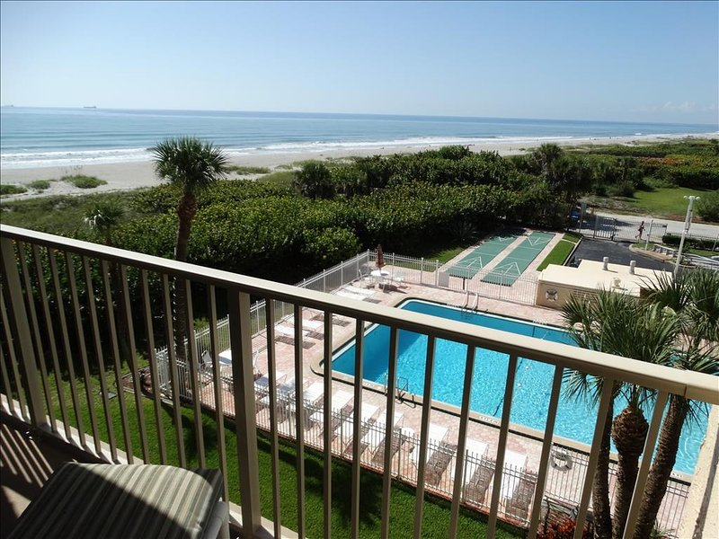 Your View! The AMAZING Unit 402 Overlooks the BEACH and POOL!