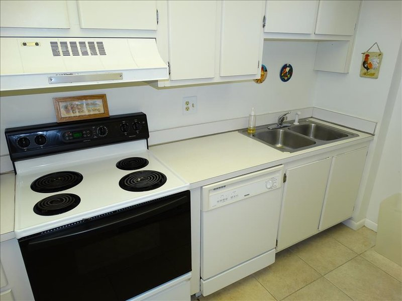 Your kitchen at Canaveral Beach 402 is fully stocked!