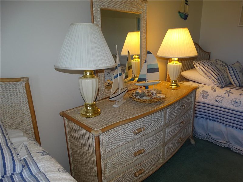 Notice the QUALITY LEVEL of the furniture!  Canaveral Beach 402 is furnished BEAUTIFULLY!