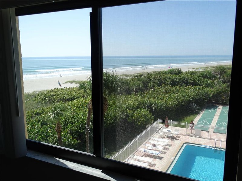 Master Bedroom has an even BETTER VIEW from the windows.  Imagine waking up to this out your window every morning!