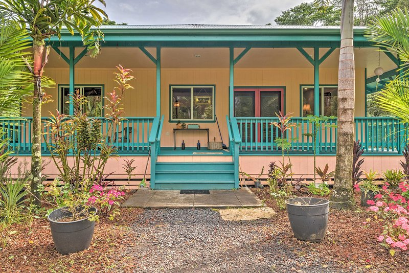 You'll never want to leave this Pahoa paradise!
