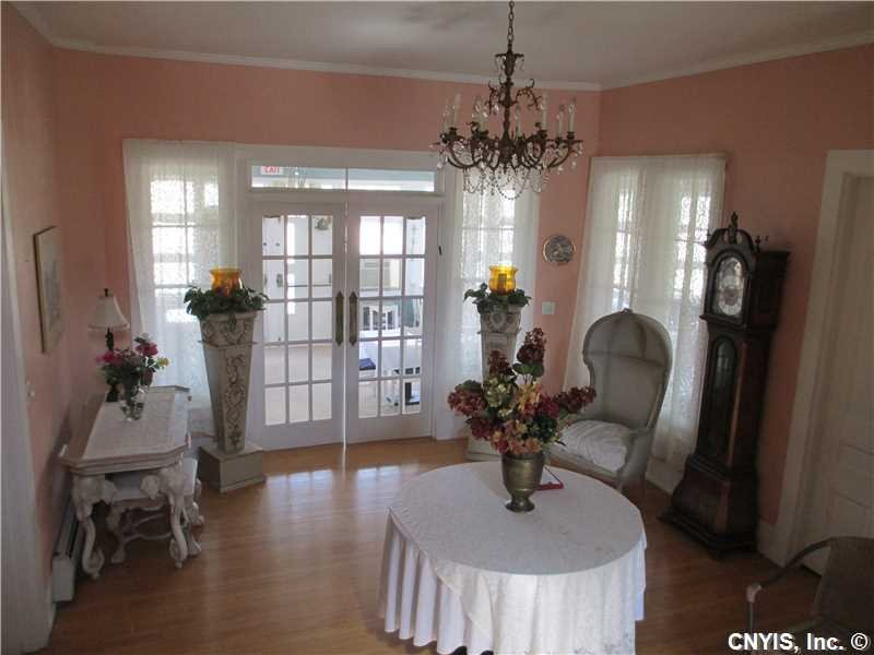 Front Hall with view of dining area.