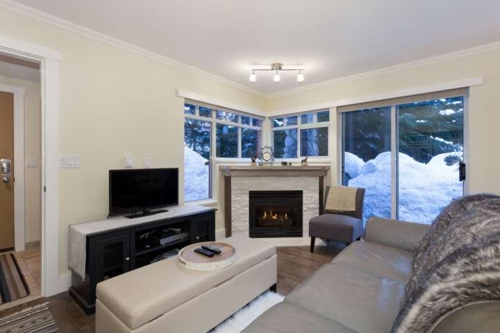 Gas fireplace, loads of natural light, flat screen TV with cable