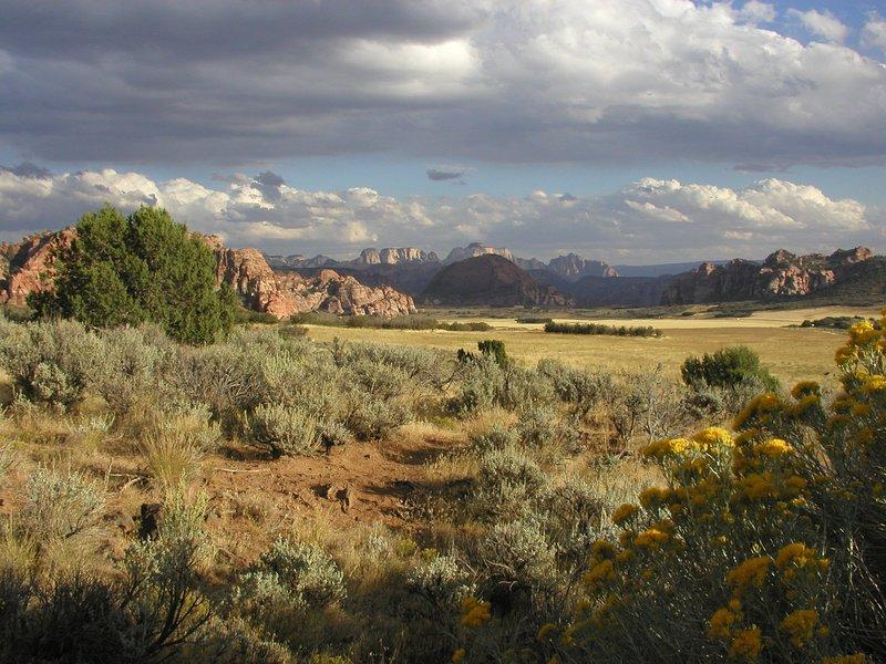 Unsere Ansichten von Zion Nationalpark-weg von den Massen!