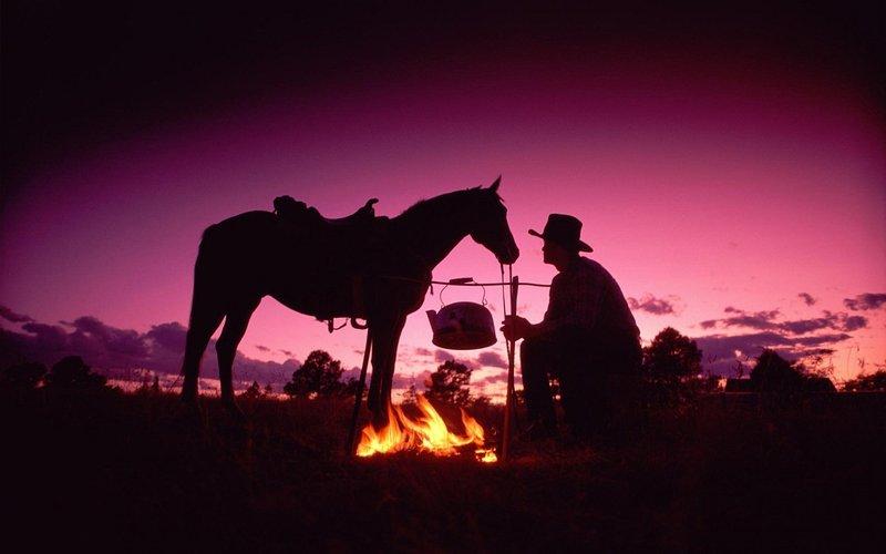 Cowboy für einen Tag mit einem unserer Ausritte!