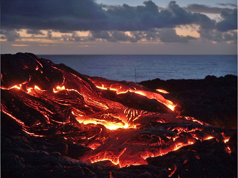 There is a place to rent bikes at night to ride and see the active volcano