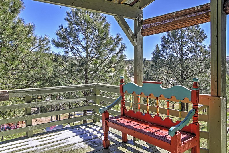 You'll love your stay at this Ruidoso vacation rental townhome.