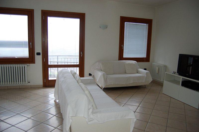 grand salon avec vue panoramique