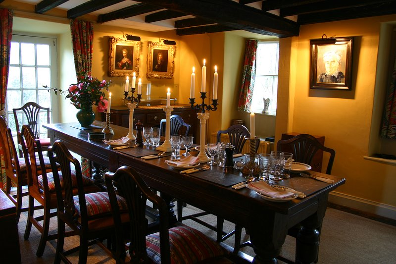 The Glorious Dining Room is perfect for long lazy suppers with friends and family