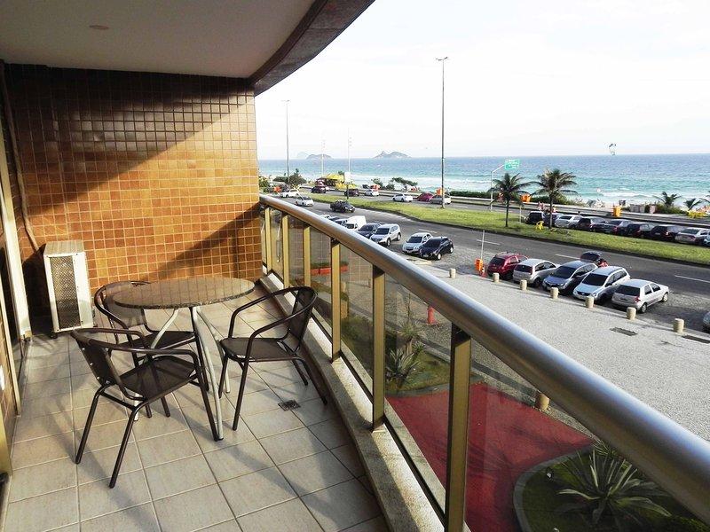 Hotel Residencia facing beach