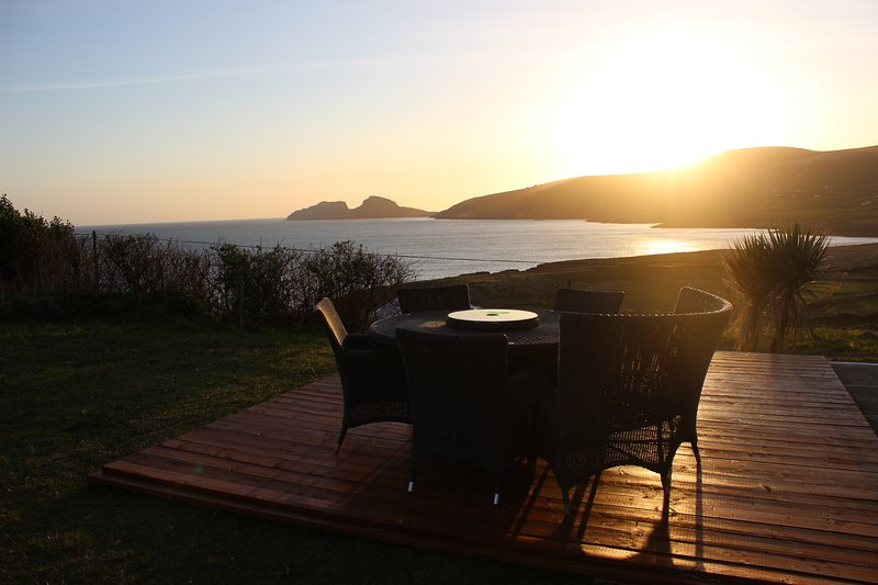 Drink in some for the very few house views overlooking Skelligs Rocks