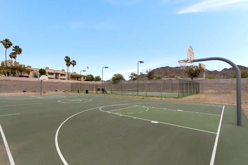 Resort Basketball Courts
