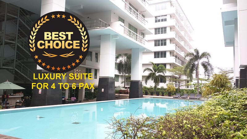 80sqm,Luxury 2BR/2Ba,Wifi,Cable TV,Pool, Sukhumvit near BTS On-Nut – semesterbostad i Bang Nam Phueng