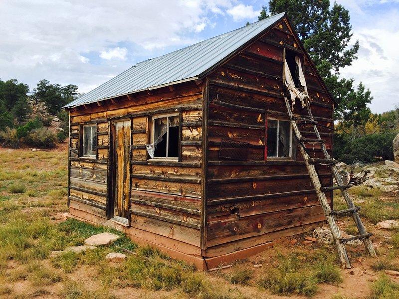 Die alte Hütte