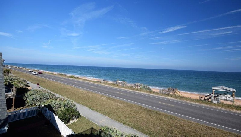 Picture Perfect views of the Ocean from Beach House 1703 in Flagler Beach