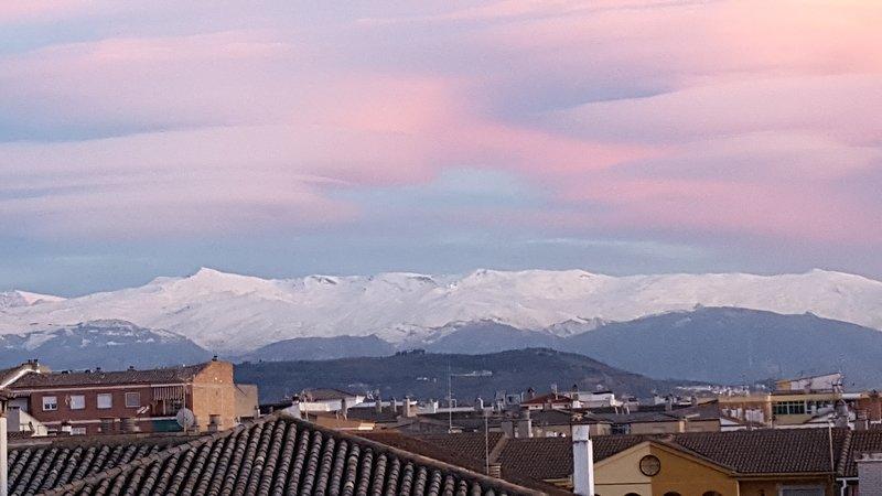 Espectaculares vistas de Sierra Nevada.