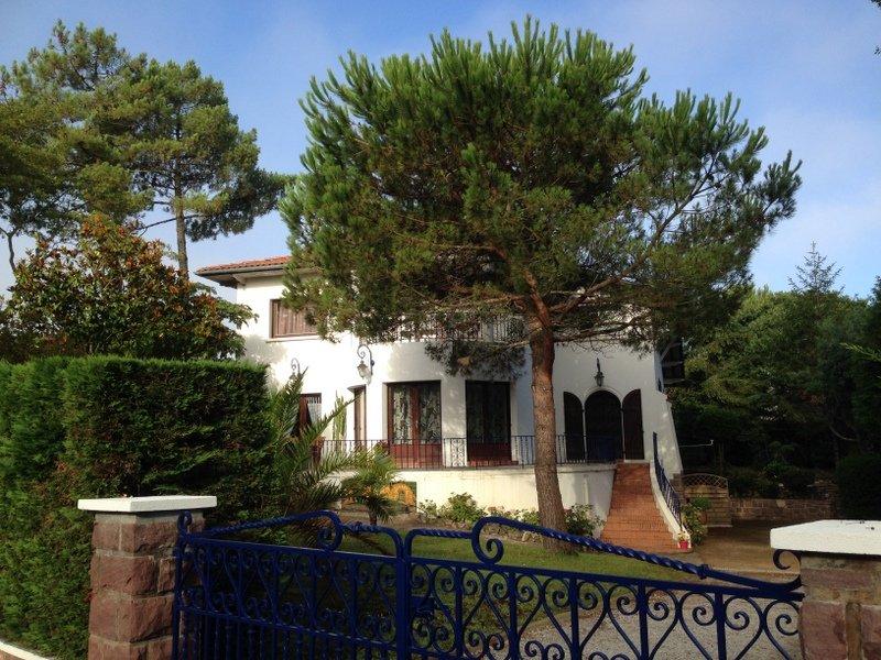 Duplex à HOSSEGOR situé sur la droite des Salamandres villa de charme