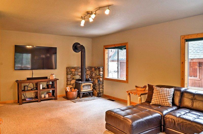 Une retraite de détente à la Truckee vous attend dans ce charmant chalet de location de vacances!