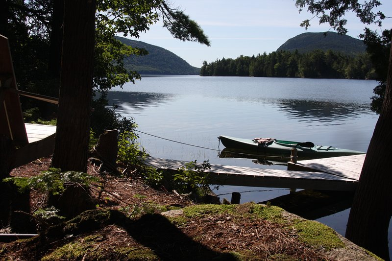 Long Pond Waterfront with Dock and Views of Acadia, holiday rental in Mount Desert Island