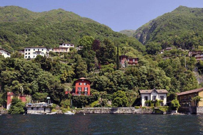 Lakefront villa (villa on the right)