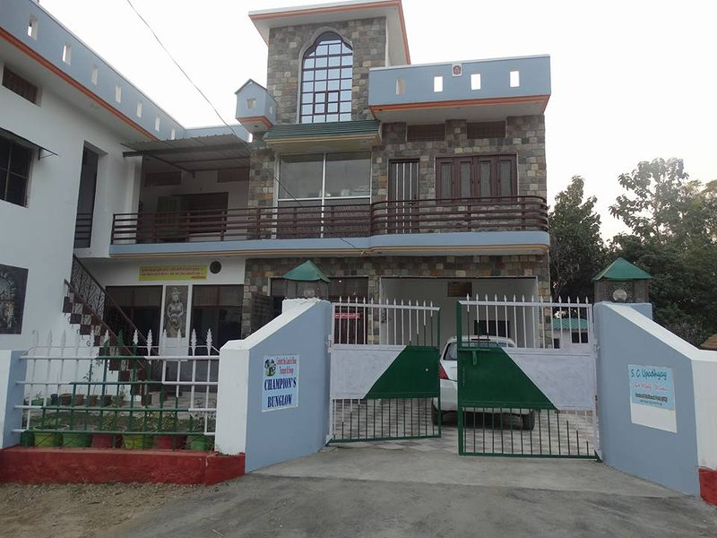 Champion's Bungalow, Corbett Village Homestay, holiday rental in Teda