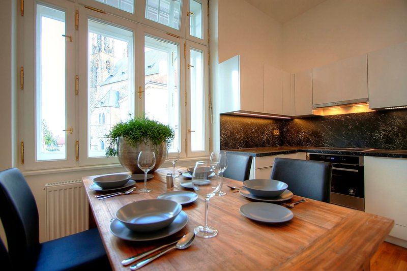 Bishop Superior Apartment, holiday rental in Brno