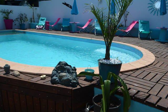 Chambre chez l'habitant + piscine proche Saint Pierre 'Cardinal', casa vacanza a Ravine des Cabris