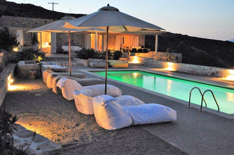 Exclusive vacation home with unique sea view., holiday rental in Pátmos