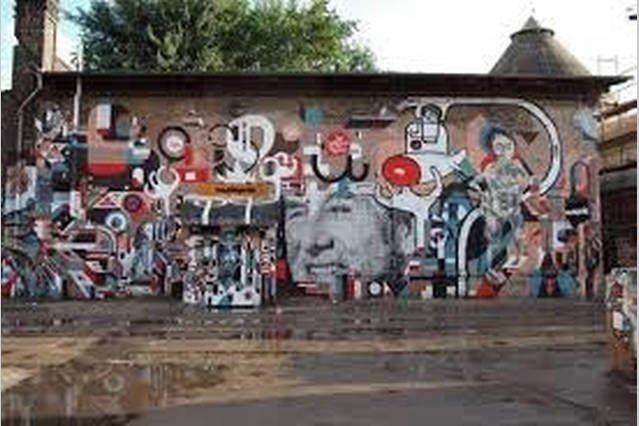 artistics graffity area