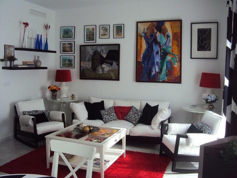 Piso acogedor, moderno y luminoso, aluguéis de temporada em Puente Genil