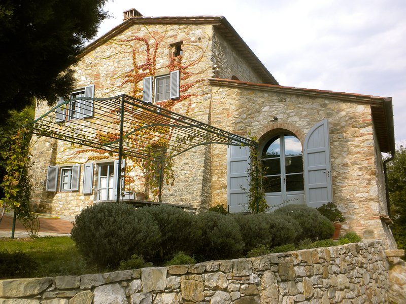 Le Ripe in Chianti Entire Farmhouse Villa - May and June 2018 only, holiday rental in Lucarelli