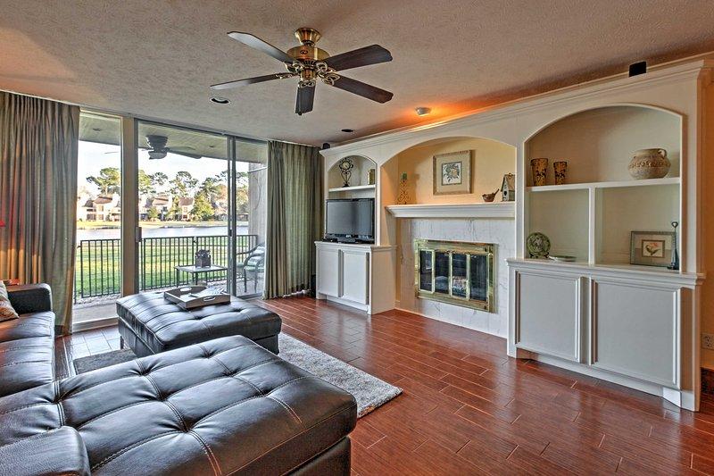 Escape to this  2-bedroom, 2-bathroom vacation rental condo for the ultimate Montgomery getaway!