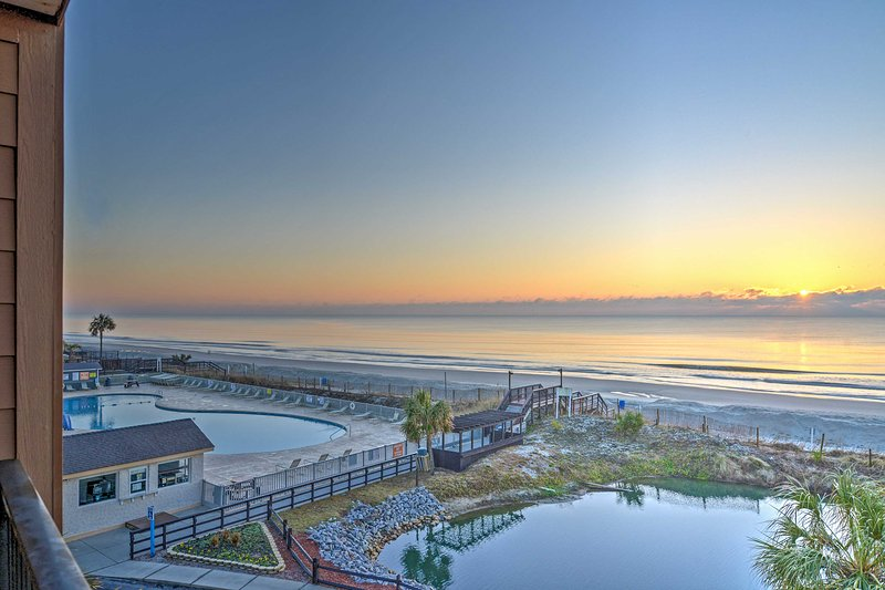 Have the beach retreat of a lifetime at this Myrtle Beach vacation rental condo!