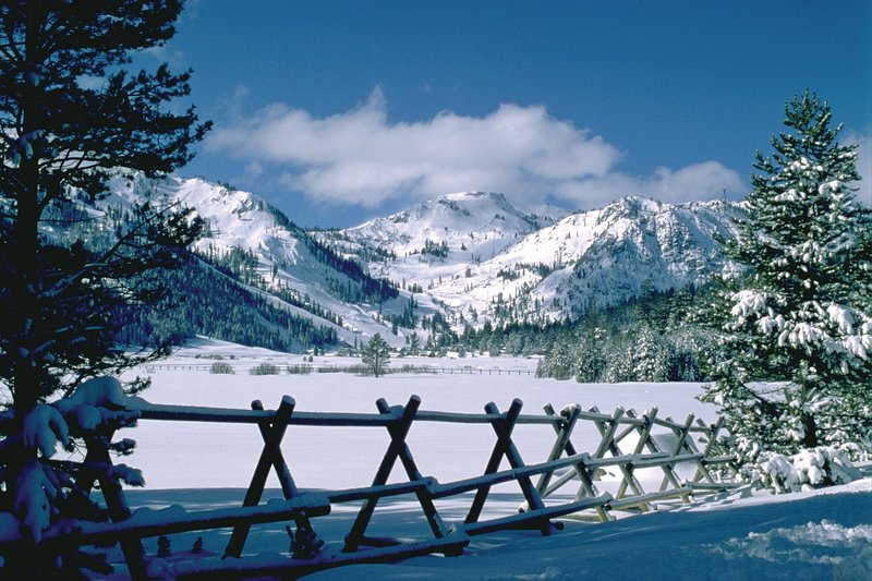 Luxury Ski-in-Ski-Out Squaw Village Condo with Mountain and Plaza Views, holiday rental in Squaw Valley
