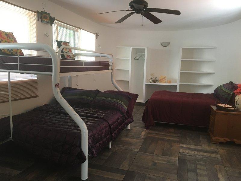 3 dormitorios en la planta baja