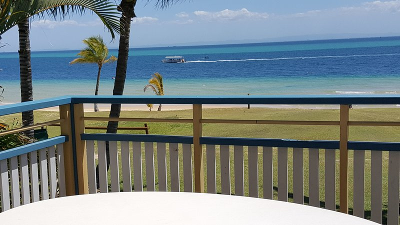 Magnificent views from downstairs balcony