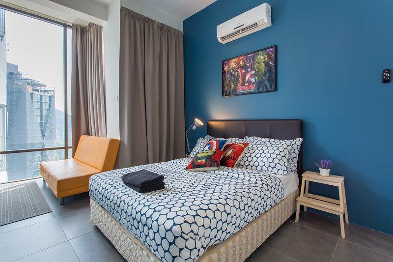 Marvel Studio Empire Damansara Guesthouse, aluguéis de temporada em Sungai Buluh
