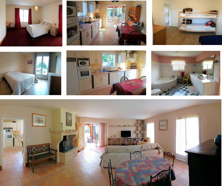 Grande maison meublée classée 4 étoiles..., location de vacances à Montrem