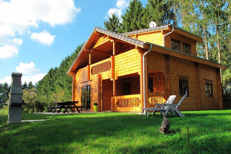 Le Chal'heureux - Location de qualité pour 8 personnes dans les Ardennes, vacation rental in Le Chesne